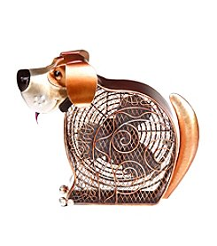 Deco Breeze Doggie Figurine Fan