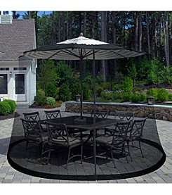 Pure Garden Outdoor Umbrella Screen