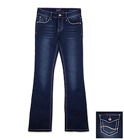 Lee® Girls' 7-16 Heavy Stitch Boot Cut Jeans