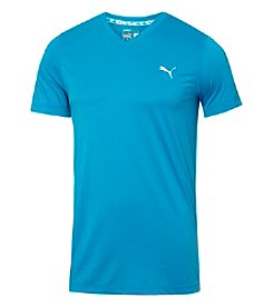 PUMA® Men's Essential V-Neck Tee