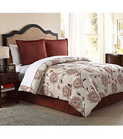LivingQuarters Crystal 4-pc. Comforter Set