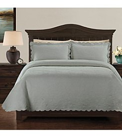 LaMont Home® Kinsley Scalloped Matelassé Coverlet Collection