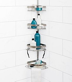 Zenna Home™ Premium Dual-Tone Tub and Shower Pole Caddy