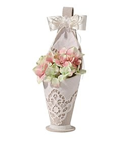 Lillian Rose® Country Lace Flower Basket