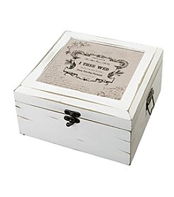 Lillian Rose® True Love Antique White Card Box