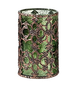 Lillian Rose® Moss Green Glass Tealight Holder