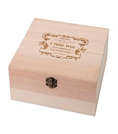 Lillian Rose® True Love Wooden Card Box