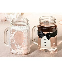 Lillian Rose® Bride and Groom Drink Glass Covers