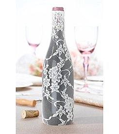 Lillian Rose® Country Lace Lace Wine Bottle Cover
