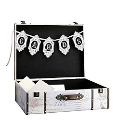 Lillian Rose® True Love Suitcase Cardbox