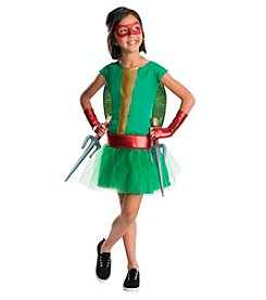 Teenage Mutant Ninja Turtles® Deluxe Raphael Girl Tutu Kids Costume