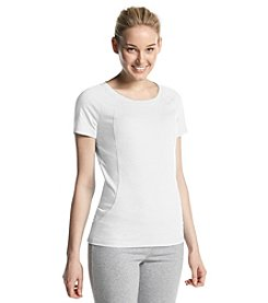 Exertek® Petites' Short Sleeve Curved Seam Tee
