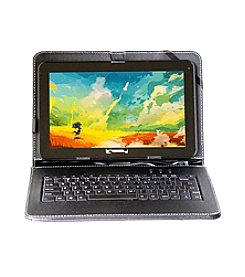 Linsay 10.1-Inch New 1024X600HD QUAD CORE 8GB Android 4.4 Kit Kat with Leather Keyboard