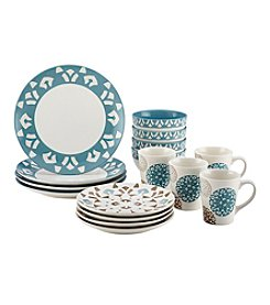 Rachael Ray® Pendulum Stoneware 16-pc. Dinnerware Set + FREE GIFT see offer details