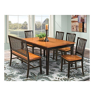 After Visiting A Few Furniture S In The Area We Picked Out Dining Room Set At Carson That Entire Family Loved