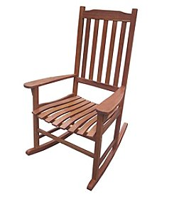 Merry Products™ Natural Stain Traditional Rocking Chair