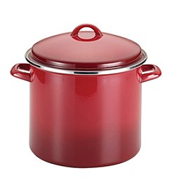 Rachael Ray® 12-qt. Red Enamel on Steel Covered Stockpot