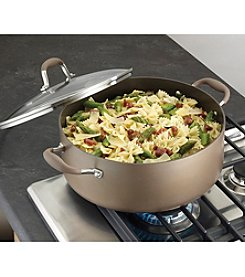 Anolon® Advanced 7.5-qt. Bronze Hard-Anodized Nonstick Covered Wide Stockpot
