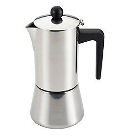 BonJour® Coffee & Tea Stainless Steel 6-Cup Stovetop Espresso Maker