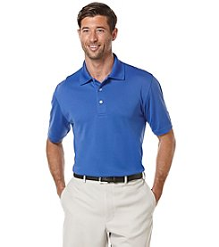 PGA TOUR Men's Big & Tall Airflux Solid Stretch Polo Shirt