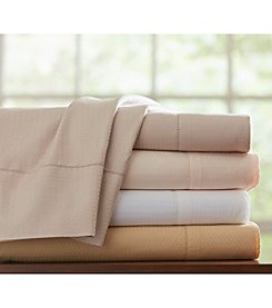 Pointehaven 525-Thread Count Dobby Pima Cotton Sheet or Duvet Sets