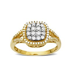 0.50 ct. t.w. Diamond Ring in 10K Yellow Gold