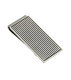 Kenneth Roberts Platinum® Men's Polished Rhodium Money Clip