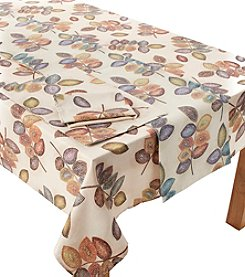 Croscill® Mosaic Leaves Table Linens