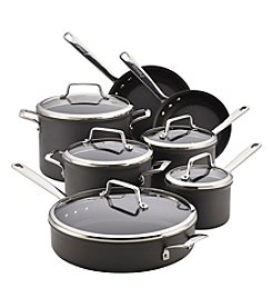 Anolon® Authority 12-pc. Black Hard-Anodized Nonstick Cookware Set