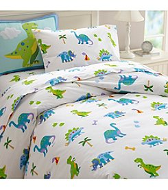 Wildkin Olive Kids Dinosaur Land Duvet Cover