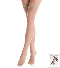 Berkshire® Romantic Lace Top Thigh Highs - Sandalfoot