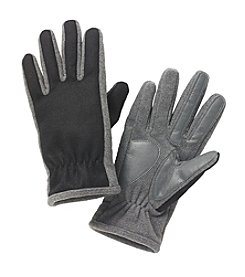 Isotoner® Men's smarTouch® Wool with Back Gather Gloves