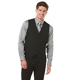 Perry Ellis® Men's Big & Tall Twill Solid Vest