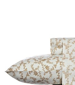 Laura Ashley® Home Victoria Flannel Sheet Set