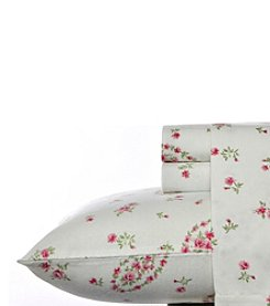 Laura Ashley Bristol Paisley Flannel Sheet Set