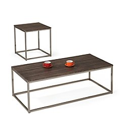 Acme Cecil Brushed Nickel Table Collection