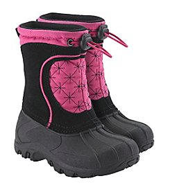 Sporto® Girls' Pink Snowflake Winter Boots