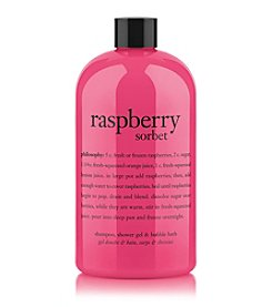 philosophy® Raspberry Sorbet Shampoo, Shower Gel & Bubble Bath