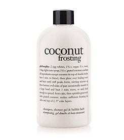 philosophy® Coconut Frosting Shampoo, Shower Gel & Bubble Bath