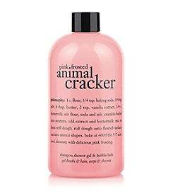 philosophy® Pink Frosted Animal Cracker Shampoo, Shower Gel & Bubble Bath
