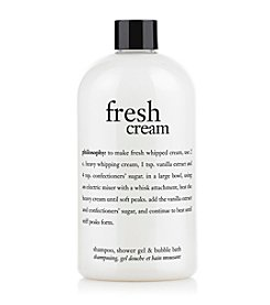philosophy® Fresh Cream Shampoo, Shower Gel & Bubble Bath