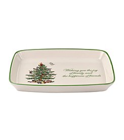 Spode® Christmas Tree Sentiment Tray