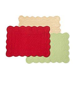 LivingQuarters Quilted Placemat