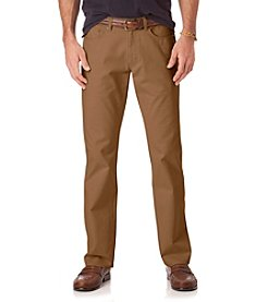 Chaps® Men's Creston 5 Pocket Traditional Waist Cuffed Pants