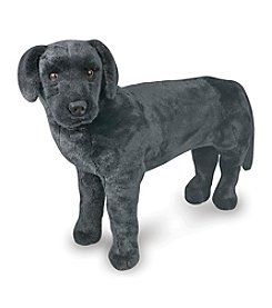 Melissa & Doug® Black Lab Plush