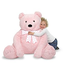 Melissa & Doug® Jumbo Pink Plush Teddy Bear