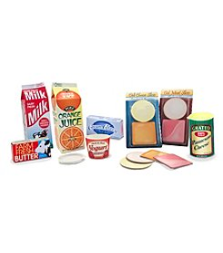 Melissa & Doug® Let's Play House! Fridge Groceries
