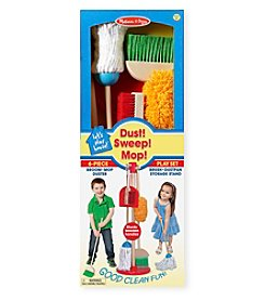 Melissa & Doug® Let's Play House! Dust, Sweep & Mop