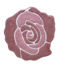 Jessica Simpson Bloom Solid Bath Rug