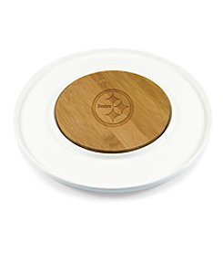 NFL® Pittsburgh Steelers Island Cheese Set with Bamboo Board